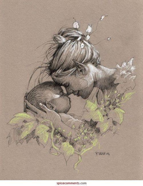 Die Liebe einer Mutter kennt keine Grenzen. – #grenzen #liebe #mutter