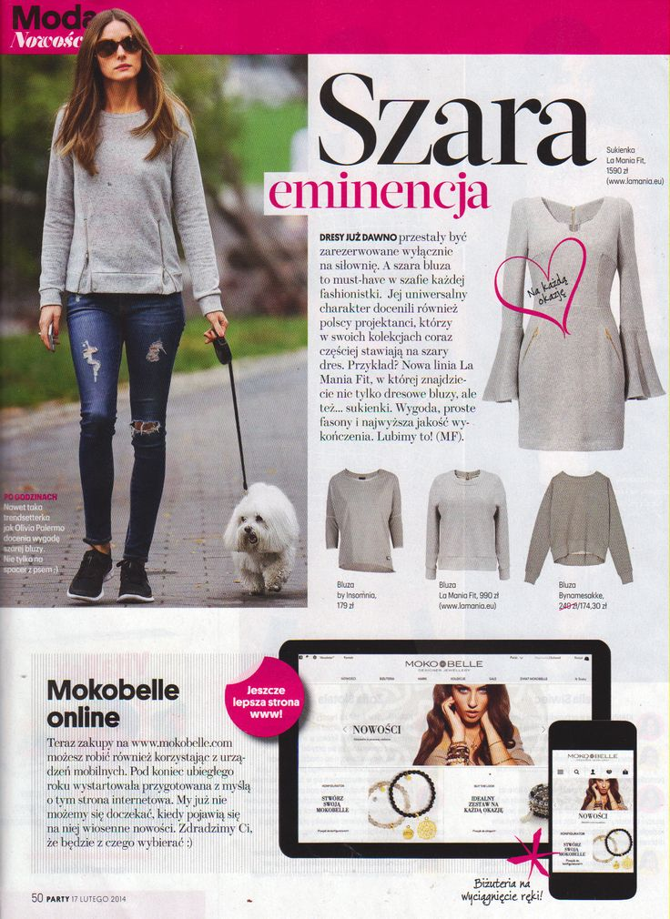 La Mania Fit in Party magazine!