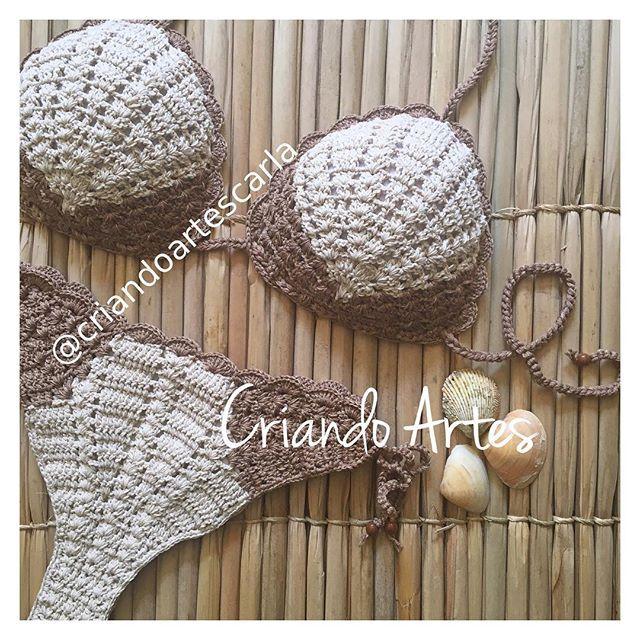 s e r e i a n d o . Encomende o seu pelo Direct ou Whatsapp 24 988476756 . #biquiniscroche #biquini #biquinis #biquínis #crochet #handmadebikini #handmade #biquinicroche #brazilianbikini #brazilianbikinis #bikinilife #bikinilover #bikinilove #crochetbeachwear #beachwear #modapraia #modaverao2018 #lookverao #lookdodia #summer2018 #mermaidbeach #modaparameninas #biquinislindos #sereiando #biquinisbrasileiros #beachstyle #beachglam #resortwear #mermaid #mermaidlife