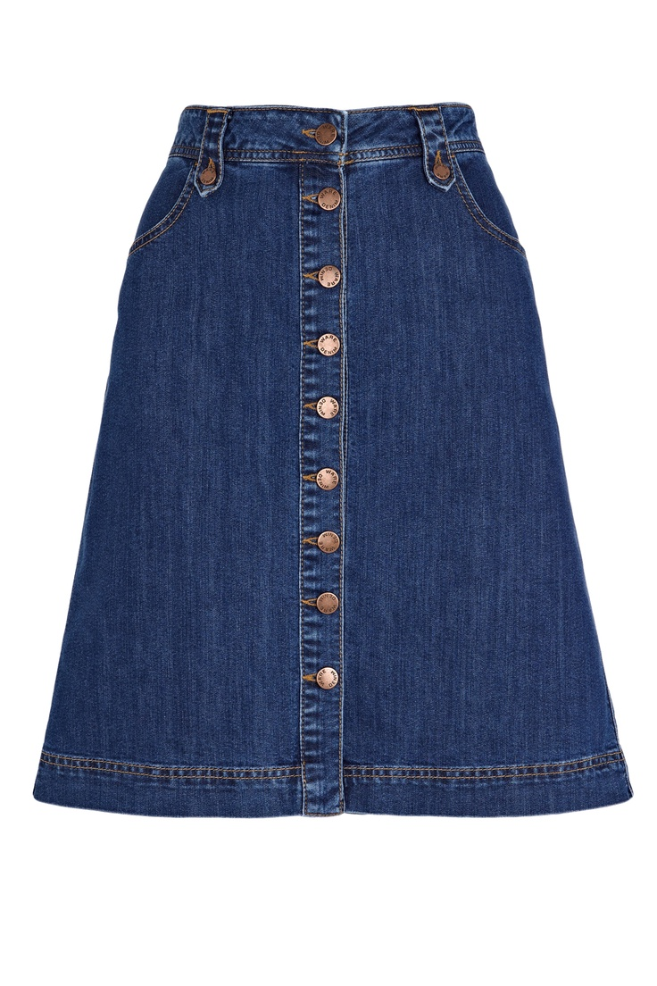 denim skirts- i had one exactly the same as this one