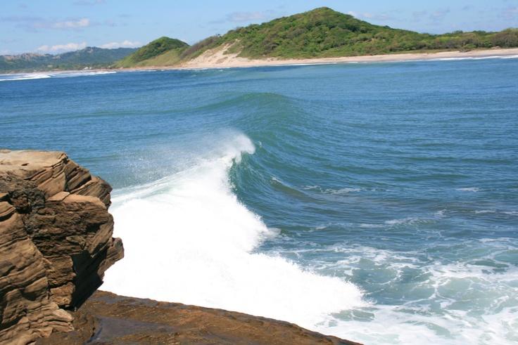 popoyo, nicaragua. Fav surf break