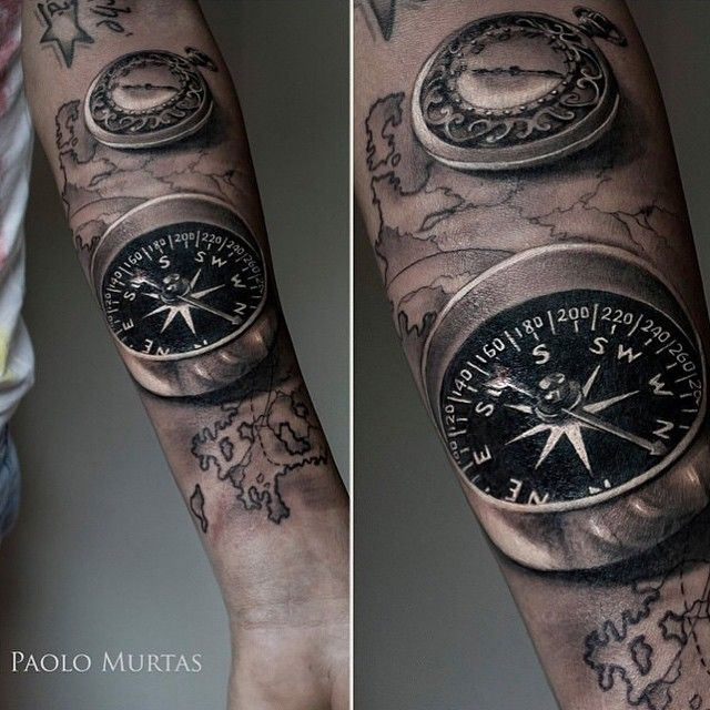 87 best compass images on pinterest tattoo ideas compass and black armband and nautical compass tattoos gumiabroncs Gallery