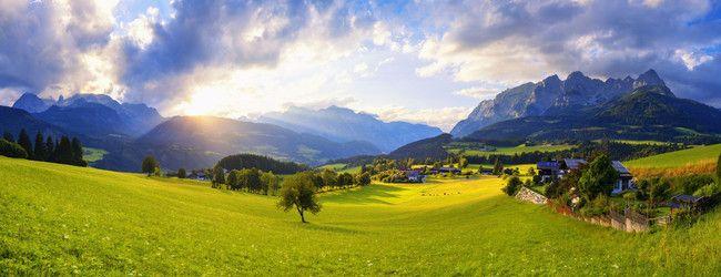 View of the Hochkönig mountain and the Hagengebirge © SLTG