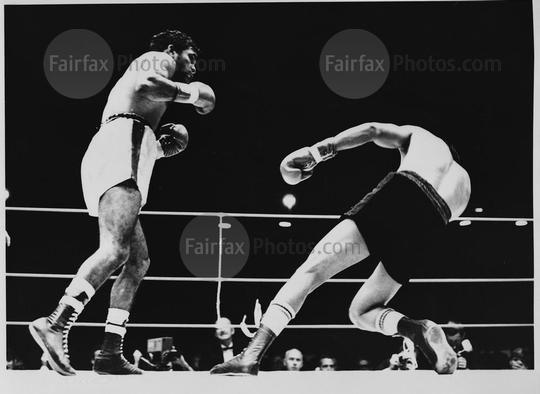 Australian boxer Lionel Rose in