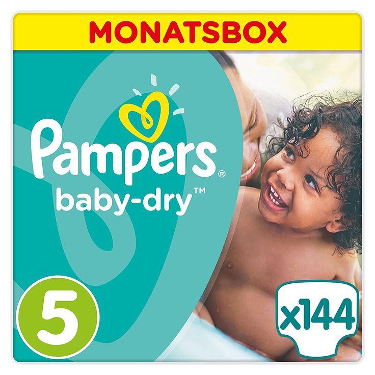 Pampers Baby Dry Windeln, Gr. 5 (11-23 kg), 1er Pack (1 x 144 Stück): Amazon.de: Drogerie & Körperpflege http://amzn.to/2pgy9Be