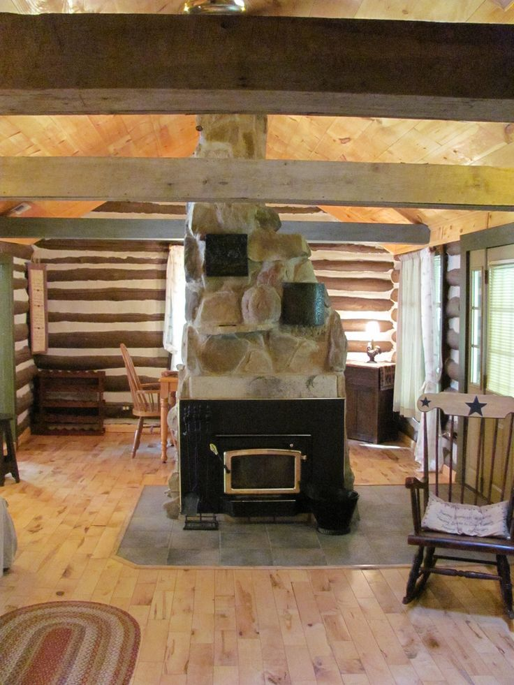 log cabin living room architecture and interior design