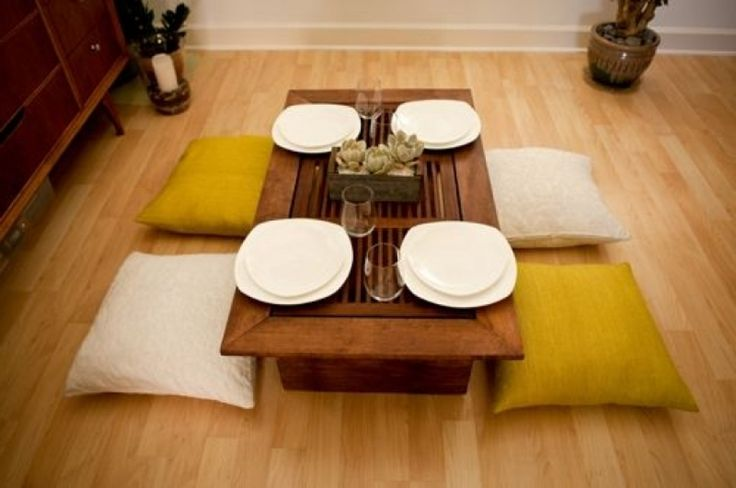 1000 ideas about Japanese Dining Table on Pinterest  : 483ceca4bcb4d662818e70e0b9cda3f4 from in.pinterest.com size 736 x 488 jpeg 39kB