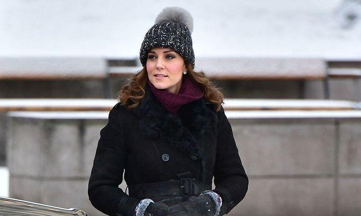 Kate Middleton: Palace denies pregnant Duchess is wearing real fur