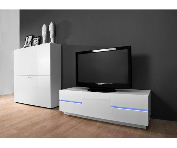 14 best meuble tv hifi images on pinterest furniture tv for Meuble petit prix