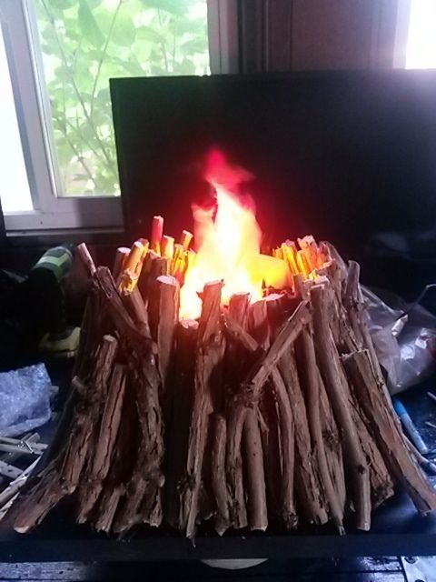 fake fire by Halloween Forum member SakiGirlOther Showcase your most recent craft! - Page 758