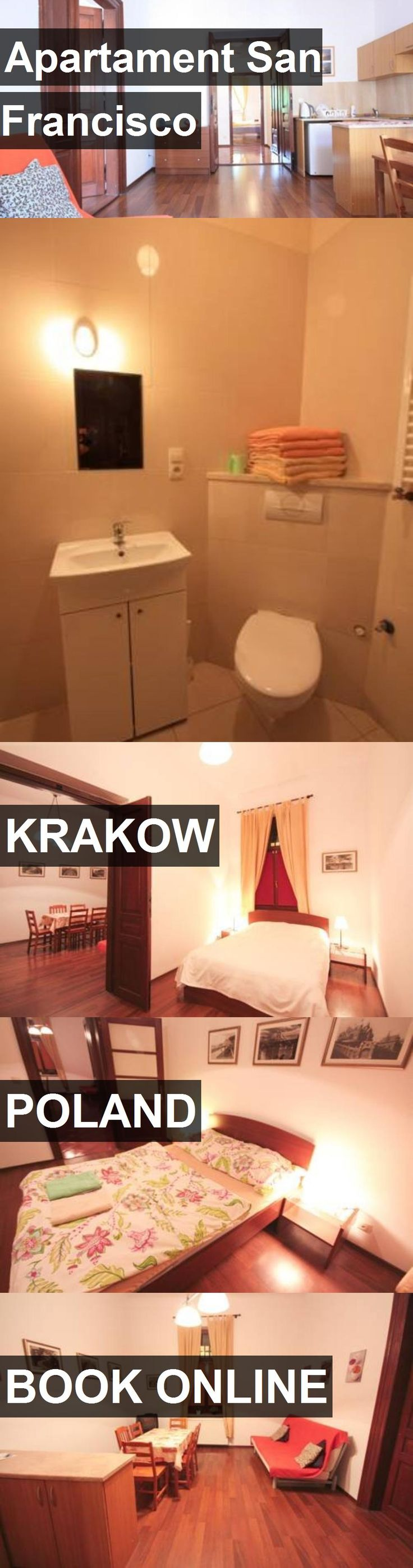 Hotel Apartament San Francisco in Krakow, Poland. For more information, photos, reviews and best prices please follow the link. #Poland #Krakow #hotel #travel #vacation