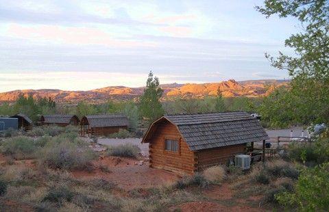 Moab koa camping in utah koa campgrounds mountain for Moab utah cabins