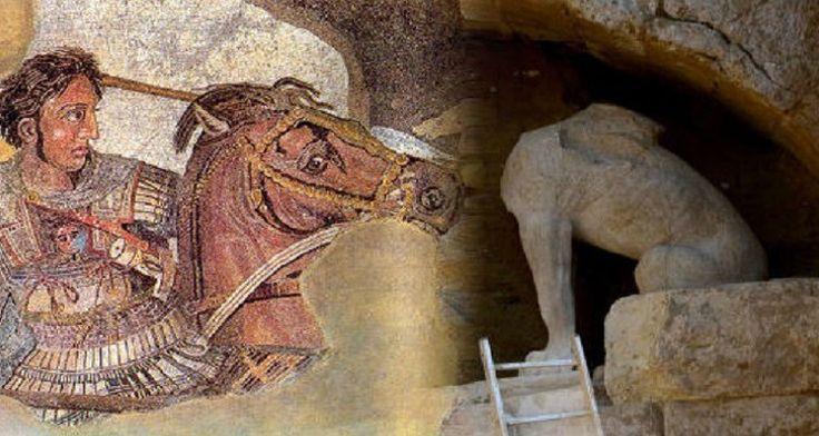 Παγκόσμιο Δέος Ανατροπή στην Αμφίπολη – Βρήκαν ανάγλυφη κεφαλή του Μ. Αλεξάνδρου (Βίντεο)