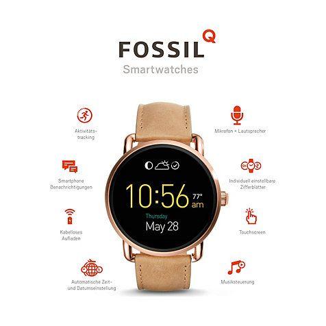 Fossil Q Wander Smartwatch FTW2102