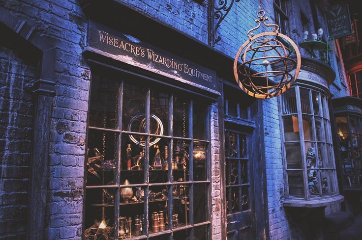 The making of Harry Potter. Warner Bros Studios, London.