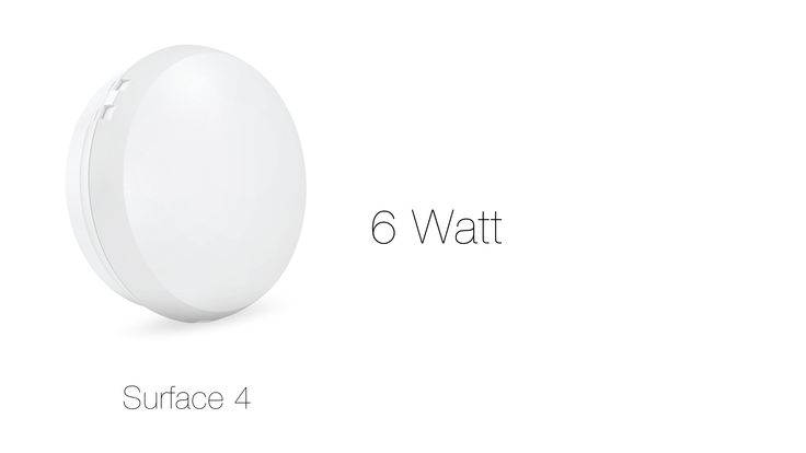 Replace your 23 #Watt #CFL with 6 Watt Surface 4 - #CorviLEDLight and get the same light #Becauselightisforeveryone