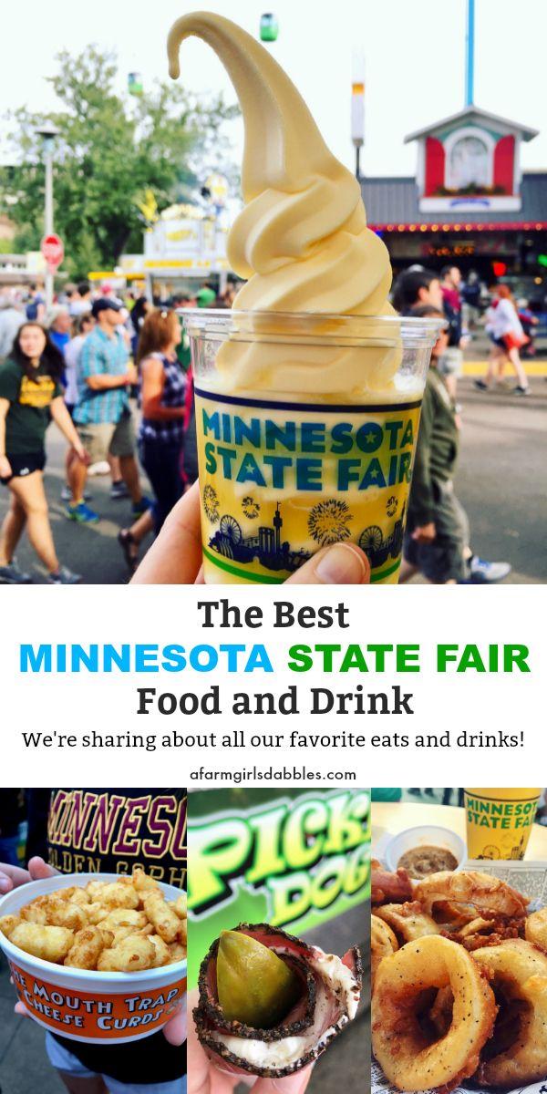 Best Minnesota State Fair Food And Drink Fair Food Recipes