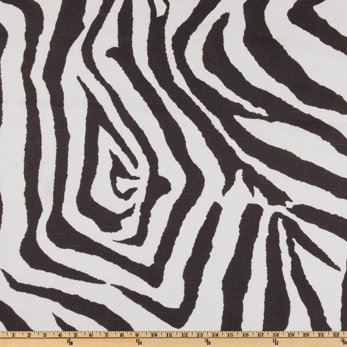 premier prints zebra slub texture charcoal discount designer fabric fabriccom premier printshome decor - Discount Designer Home Decor