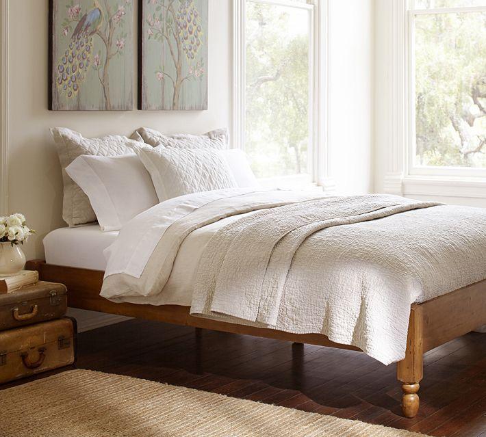 Best Pottery Barn Universal Platform Bed Bedroom Furniture 400 x 300