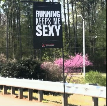 Running Keeps Me Sexy - Rock n Roll Raleigh