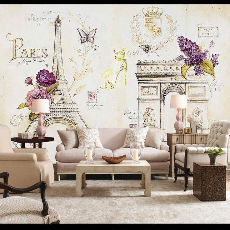 25+ beste ideeën over parijs behang op pinterest - schoonheid, Deco ideeën