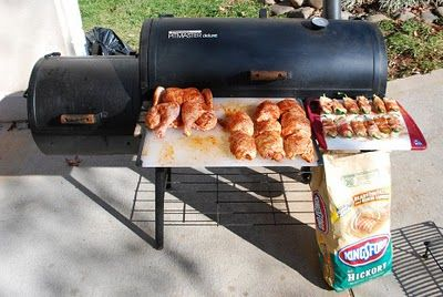 Nibble Me This: How I Smoke Chicken on my Cheap Offset Smoker (Brinkmann, Char-Griller, etc)