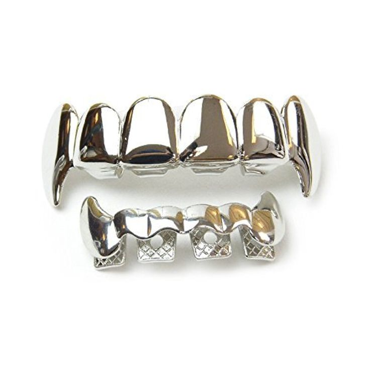 Image result for Develop Your Personality via Silver Plated High-Quality CZ Bottom Grillz