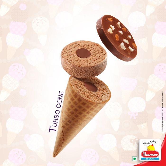 Turbo Cone #chocolate #chocolatedisk #icecream #summer #newrange #cone