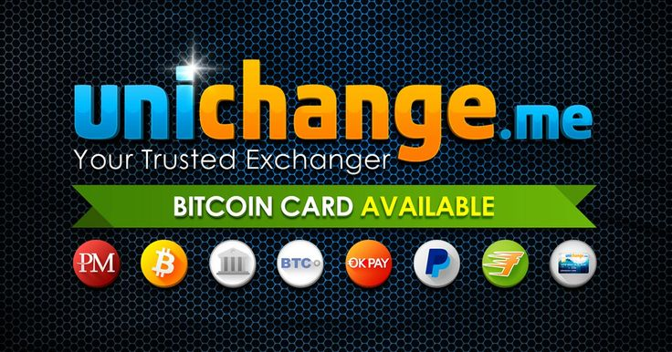 Our team consists of experienced players of e-currency exchange market, striving to provide high-level of work to our clients. Unichange.me staff members have more than 8 years of experience in financial sphere. Exchange with the highest profit on the market here: Bitcoin to FasaPay , BTC-e USD https://unichange.me/?ref=86554