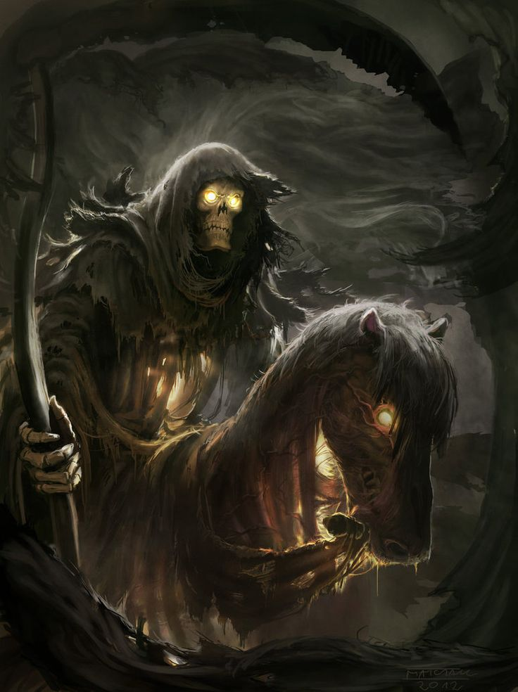 ☆ Horseman of the apocalypse - Death.。Art By :→: Matchack ☆