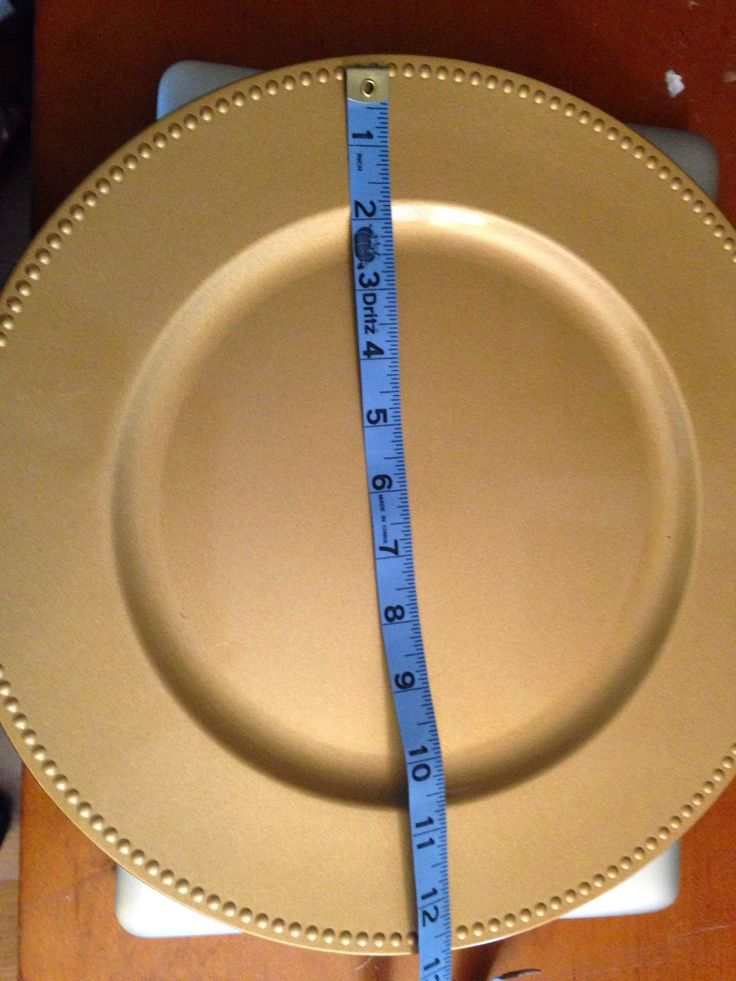 How to (Perfectly) Decorate Charger Plates with Silhouette