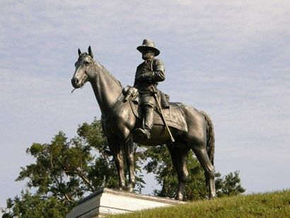MS Vicksburg - Ulysses S Grant On Horse, statue   Art ...