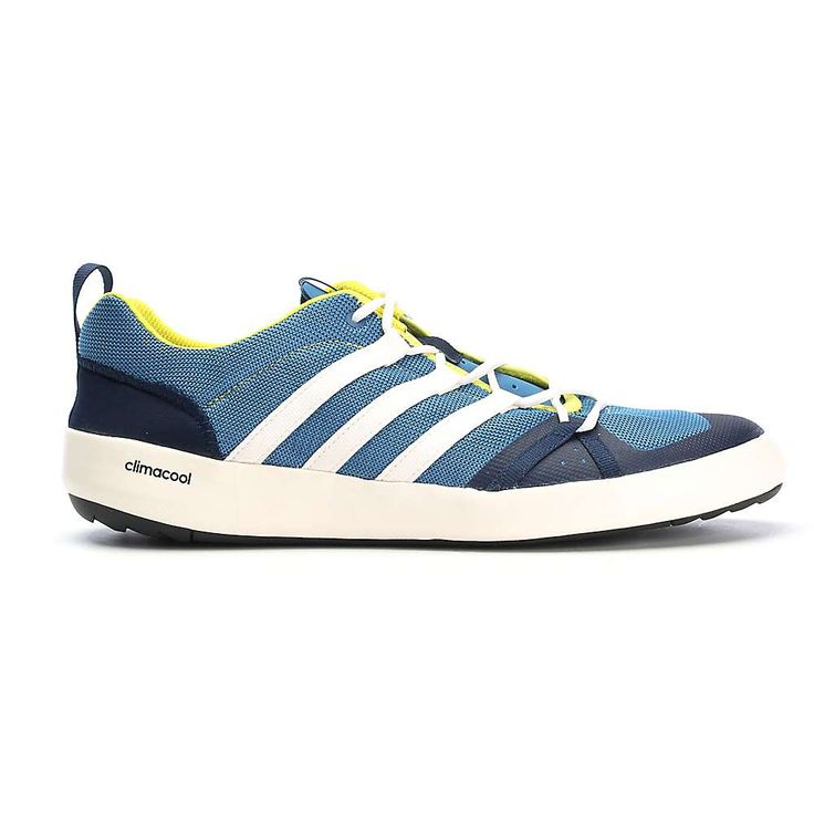 Adidas Men\u0027s Terrex CC Boat Shoe - 11 - Core Blue / Chalk White / Bright