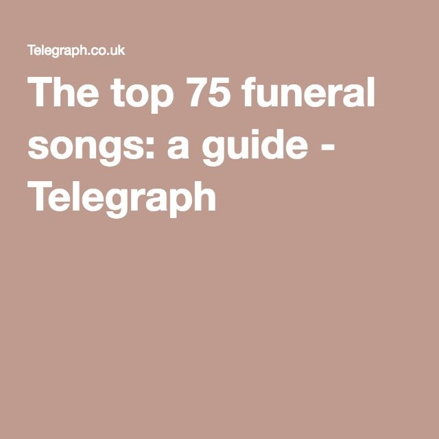 Popular classical music for funerals