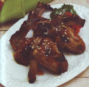 Sayap Ayam Panggang Madu