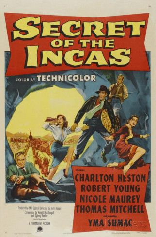 Secret of the Incas Reproduction image originale