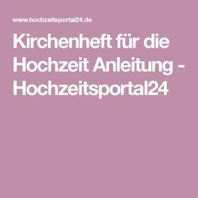1000+ ideas about Kirchenheft Hochzeit on Pinterest  Kirchenheft ...