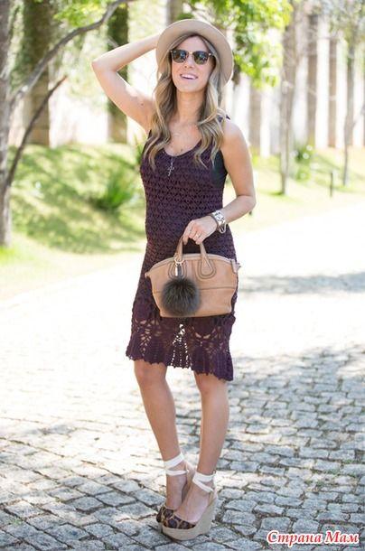 Mùa hè trang phục cho phụ nữ mang thai crochet và không chỉ .. - đan với nhau trực tuyến - Quốc gia Mom