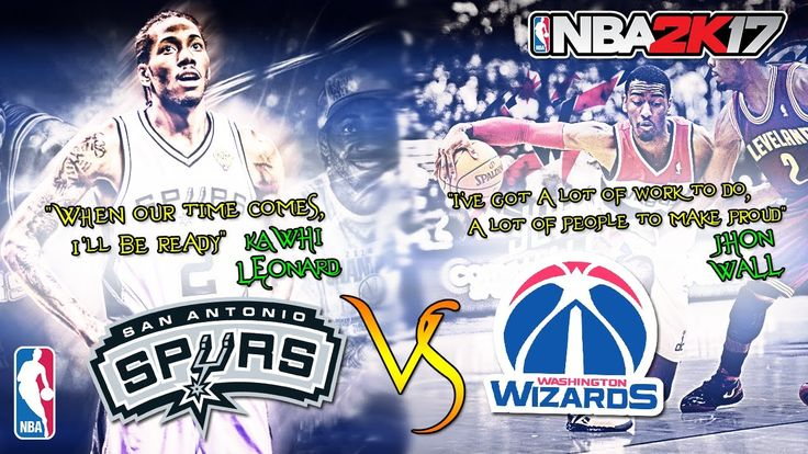 San Antonio Spurs vs Washington Wizards|Show on|NBA Matchday Simulation|...