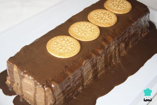 Receta de Tarta fácil de chocolate y galletas #RecetasGratis #RecetasdeCocina #RecetasFáciles #Postres #PostresFáciles #Desserts #PostresCaseros #Chocolate #TartaFría