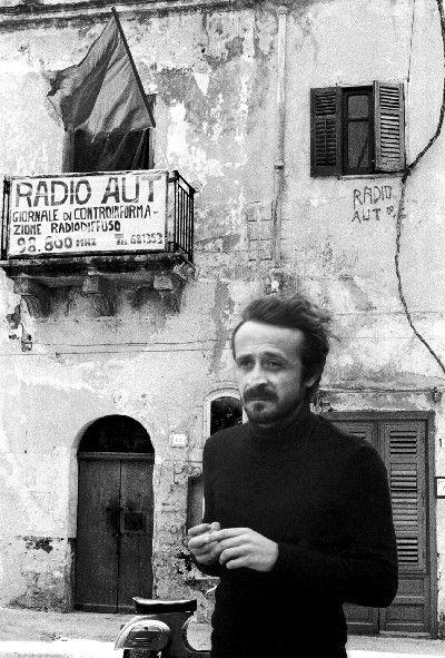 """Giuseppe Impastato, detto """"Peppino"""". Ucciso dalla mafia il 9 maggio del 1978"""