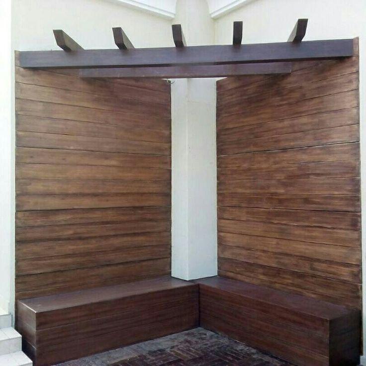 Frp wood finish cladding