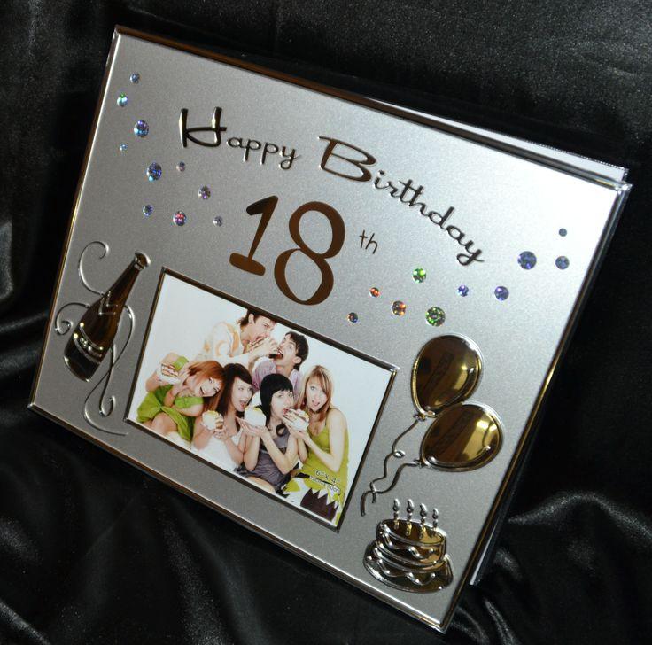 18th Birthday Silver Guest Book & Photo Album