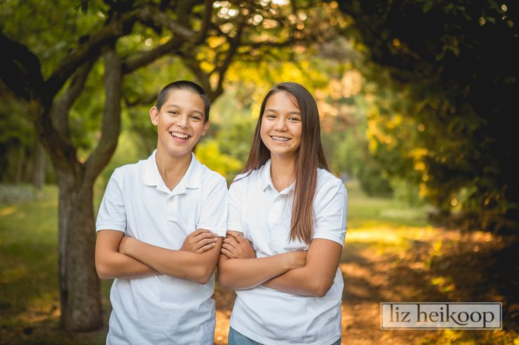 Backlit Twins l Family Session l Kitchener Rockway Gardens Liz Heikoop Photography l Brantford, Ontario
