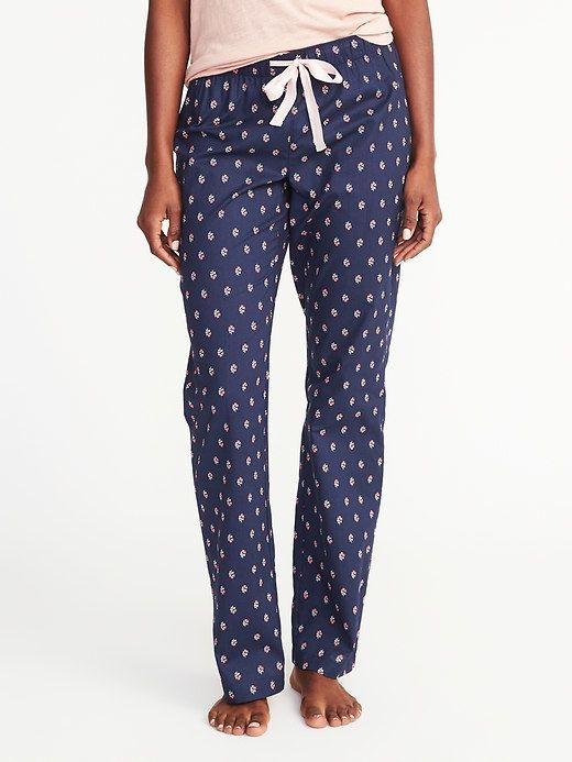 Old Navy Poplin Sleep Pants for Women
