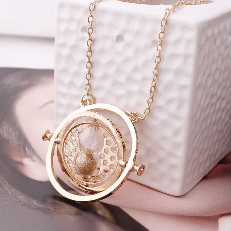 Time Turner Necklace - Inspired By Harry Potter  #RePin by AT Social Media Marketing - Pinterest Marketing Specialists ATSocialMedia.co.uk