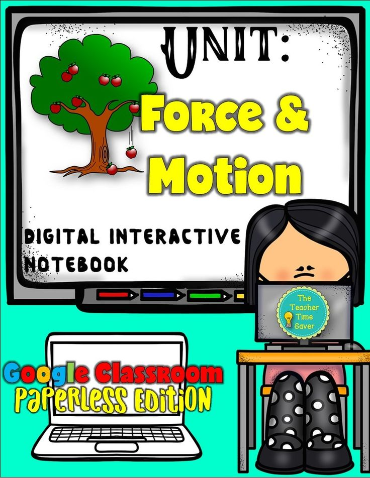 Newtons laws of motion interactive notebook bundle