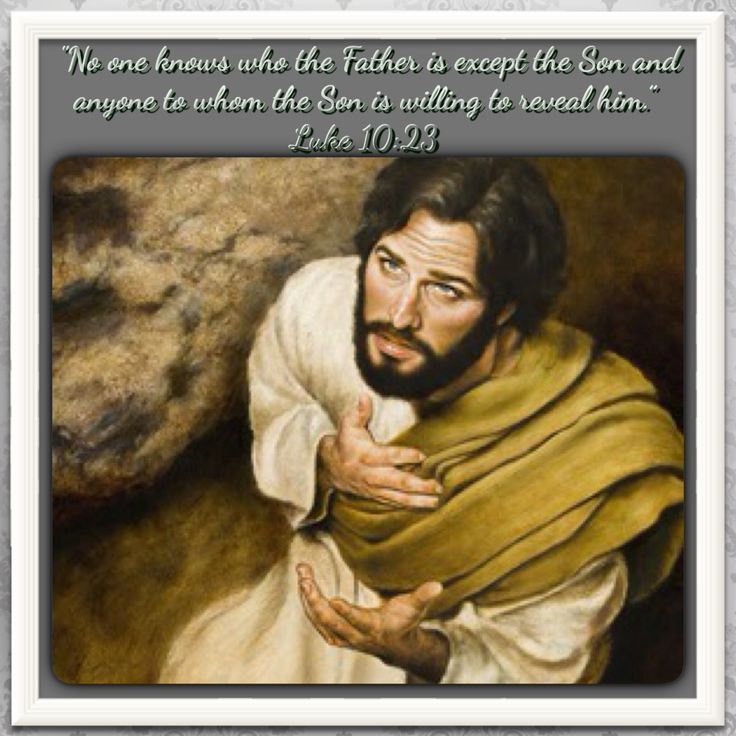A Man Asks His Wife A Question About Their Son But Is: Jesus Revealed The Father To His Disciples By Means Of His