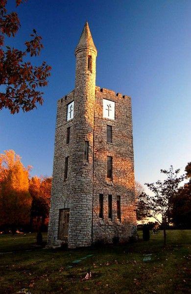 Tower of Memories at Memorial Park Cemetery in Cape Girardeau, Mo.