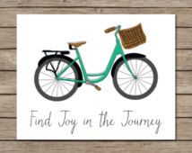 Find Joy In The Journey Printable - INSTANT DOWNLOAD Printable - joy in the journey quote - lds quote - thomas s monsoon quote - bike decor